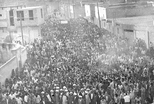 راهپیمایی مردم بهبهان در ایام انقلاب 57-انقلاب 57 در بهبهان