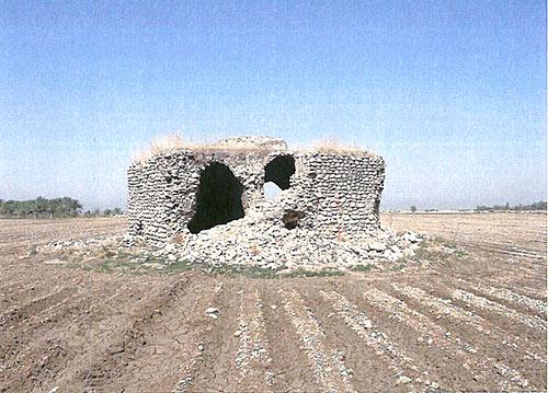 نمایی از بنای میرعبداله