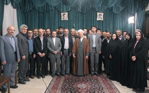 دیدار شورای شهر بهبهان با آیت الله هاشمی رفسنجانی