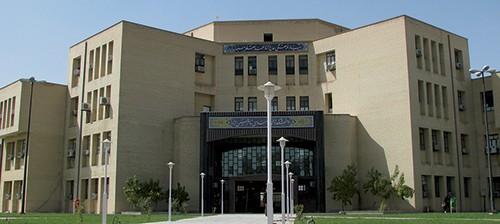 نمایی از دانشکده فنی دانشگاه صنعتی خاتم النبیا(ص) بهبهان