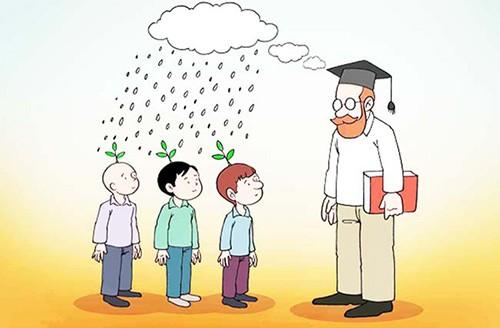 معلم علم و فهم می کارد
