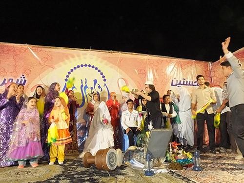 اجرای نمادین مراسم عروسی سنتی بهبهان / ۲۴ مهرماه