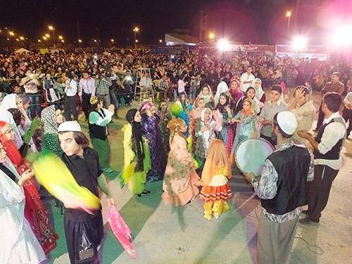 اجرای نمادین مراسم عروسی سنتی بهبهان / 24 مهرماه