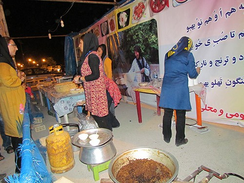 غرفه غذاهای اصیل و سنتی بهبهان