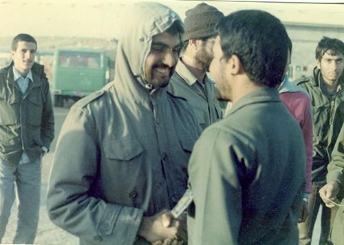 مرحوم محمد جعفر گله دار زاده در جبهه
