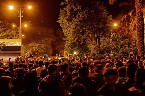 مراسم غیررسمی بزرگداشت مرتضی پاشایی در پارک ملی بهبهان