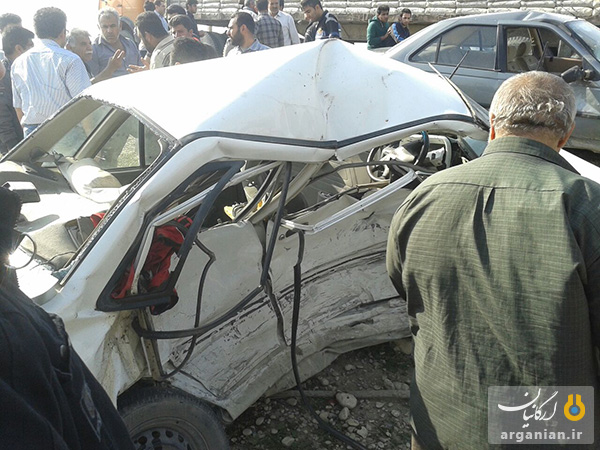 صانحع رانندگی در جاده سیمان بهبهان / 9 بهمن 1393