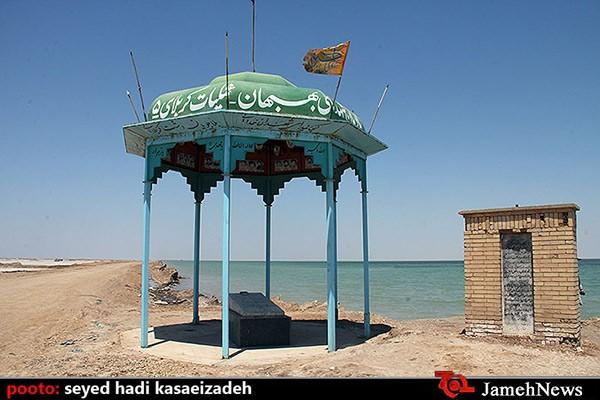 یادمان شهدای شیمیایی بهبهان / جاده شهید صفوی ، کیلومتر 10 جاده خرمشهر-اهواز