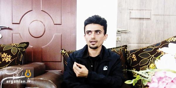 عنایت چرزیانی، شاعر جوان بهبهان