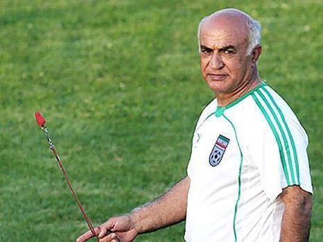 ناصر ابراهیمی پیشکسوت فوتبال ایران