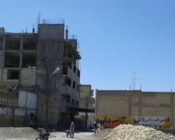 احداث ساختمان 6 طبقه بدون پروانه ساخت شهرداری بهبهان