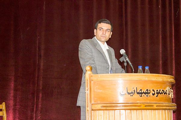 فرشاد قناطیر، مدیر انجمن اجتماعی فصل مهر بهبهان