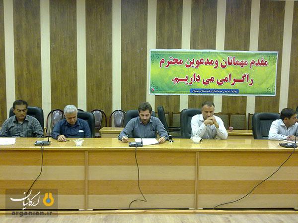 احسان غلامپور، رئیس انجمن صنفی آموزشگاههای آزاد بهبهان