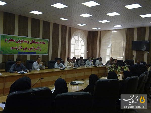نشست مدیران آموزشگاههای آزاد بهبهان با فرماندار محترم