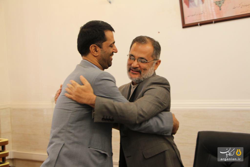 استقبال از دکتر سیدنژاد رئیس جدید دانشگاه صنعتی خاتم النبیا(ص) بهبهان