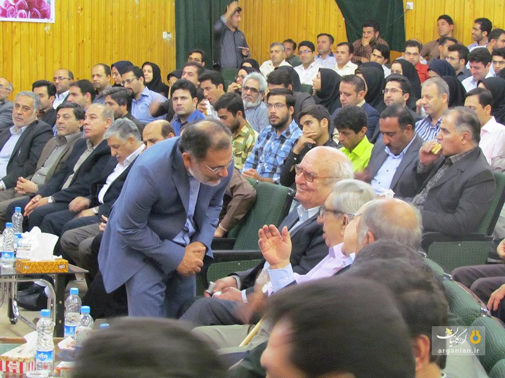 تودیع و معارفه دکتر سید نژاد دانشگاه صنعتی خاتم الانبیا(ص) بهبهان